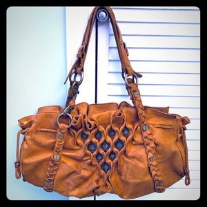 Cole Haan G Series Brown Leather Purse